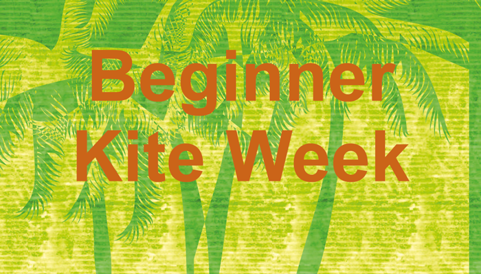 Beginner Kite week